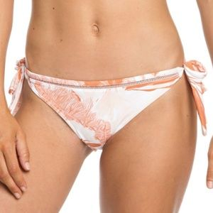 NWT Roxy Tropical Sand Regular Bikini Bottoms